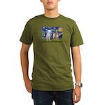 Starry / 3 Boxers Organic Men's T-Shirt (dark)