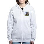 Starry / 3 Boxers Women's Zip Hoodie