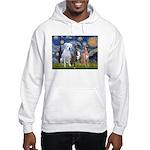 Starry / 3 Boxers Hooded Sweatshirt