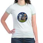 Starry / 3 Boxers Jr. Ringer T-Shirt