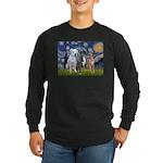 Starry / 3 Boxers Long Sleeve Dark T-Shirt