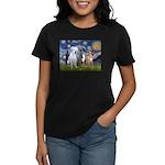 Starry / 3 Boxers Women's Dark T-Shirt
