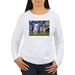 Starry / 3 Boxers Women's Long Sleeve T-Shirt