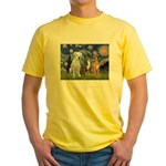 Starry / 3 Boxers Yellow T-Shirt