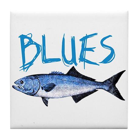 Blues Tile Coaster