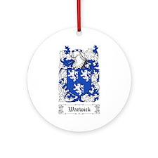 Warwick Ornament (Round)
