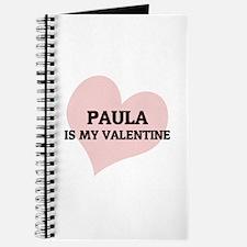 Paula Is My Valentine Journal