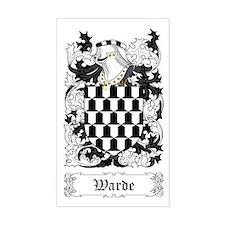 Warde Sticker (Rectangular)