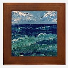 Caribbean Sea Framed Tile