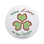 Love of the Irish Ornament (Round)