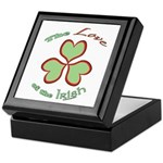 Love of the Irish Keepsake Box