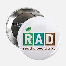 """Bird Read Aloud Daily Books 2.25"""" Button"""
