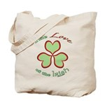 Love of the Irish Tote Bag