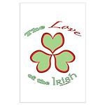 Love of the Irish Large Poster
