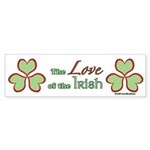 Love of the Irish Sticker (Bumper 50 pk)