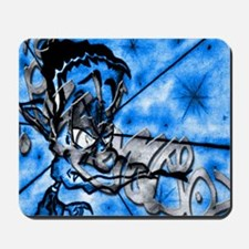 GECKOMANDOSAZUL Graffiti Art  Mousepad