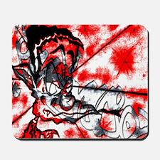 GECKOMANDOSROJA Graffiti Art Mousepad