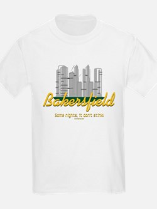 Bakersfield, sometimes it don't stink! Kids T-Shir