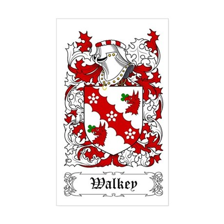 Walkey Sticker (Rectangular)