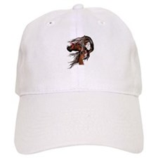 Paint Horse and Feathers Baseball Cap