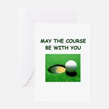 i love golf Greeting Cards (Pk of 10)