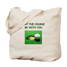 i love golf Tote Bag