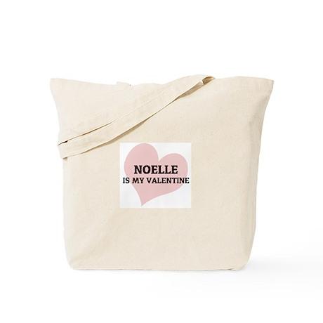 Noelle Is My Valentine Tote Bag