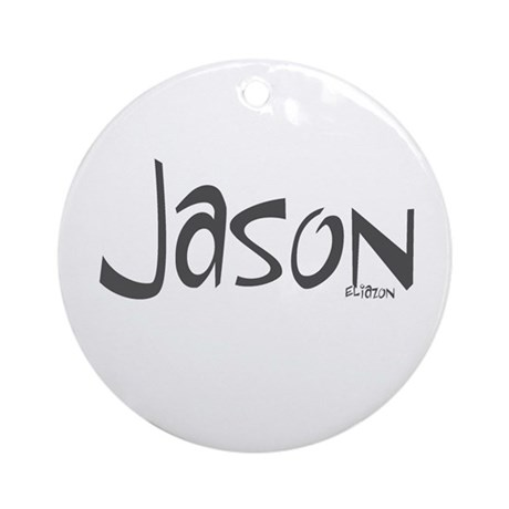 Jason Ornament (Round)
