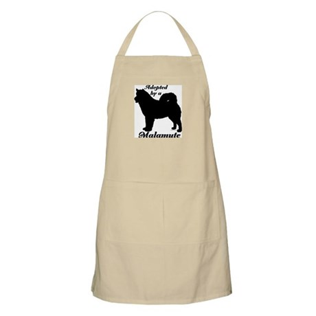 ADOPTED by a Malamute BBQ Apron