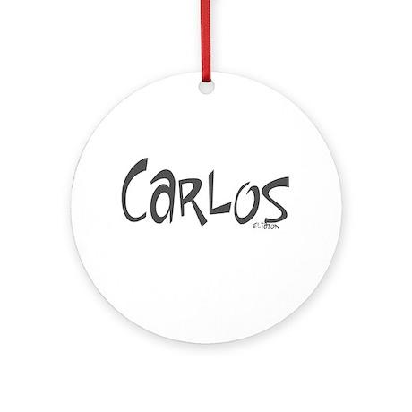 Carlos Ornament (Round)