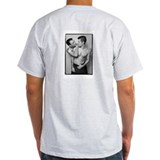 Sexy gay photos men on t-shirts Mens Light T-shirts
