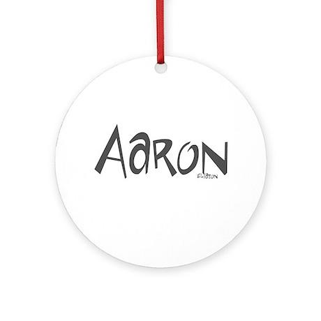 Aaron Ornament (Round)
