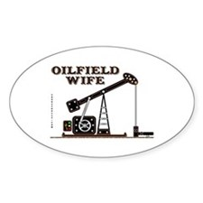 Oil Field Wife Decal,Oil Patch Decal