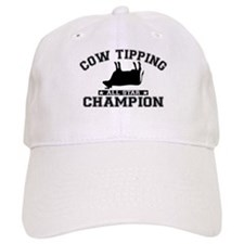 Cow Tipping All Star Champion Baseball Cap