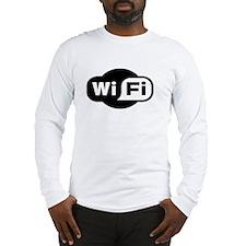 Geek Wifi Long Sleeve T-Shirt