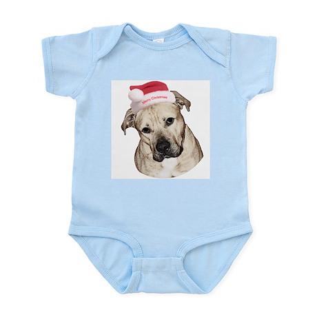 Christmas Old English Bulldog Pit Mix Infant Creep