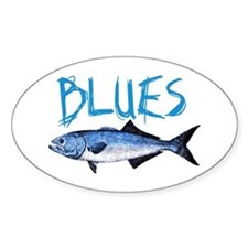 Blues Decal