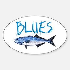 Blues Sticker (Oval)
