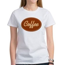 Coffee Sign Neon Glow Tee