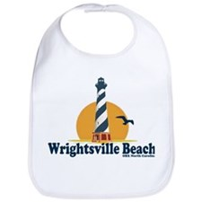 Wrightsville Beach NC - Lighthouse Design Bib