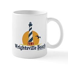 Wrightsville Beach NC - Lighthouse Design Mug