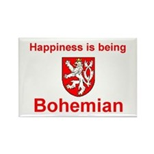 "Happy Bohemian Magnet (3""x2"")"