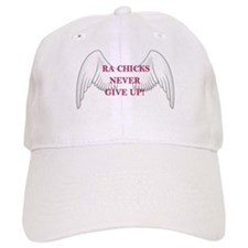 RA Chicks Never Give Up Wings Baseball Cap