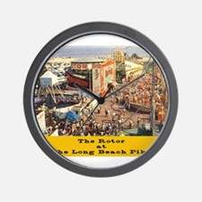 The Rotor Wall Clock