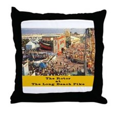 The Rotor Throw Pillow