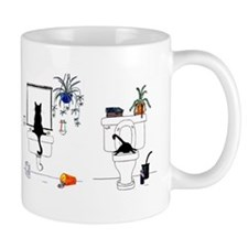 Two Cats In The Bath Mug