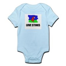 LOVE STINKS Infant Creeper