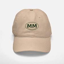 Mount Mitchell, NC Euro/Oval Baseball Baseball Cap
