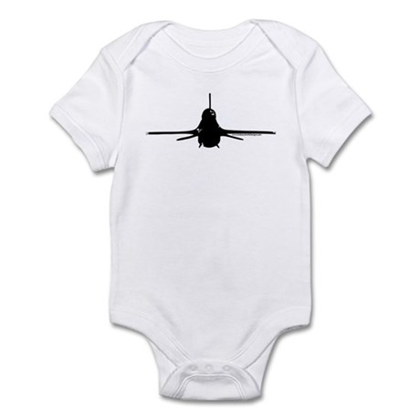 Viper - Black Infant Bodysuit