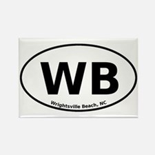 Wrightsville Beach Rectangle Magnet